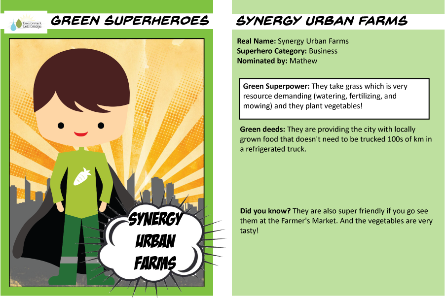 Superhero trading cards Synergy