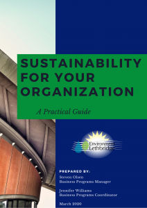 Sustainability for your organization